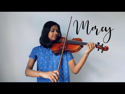 Mercy - Shawn Mendes   Violin + Piano Cover   Sarayu Music