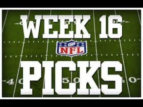 WEEK 16 NFL PICKS!!