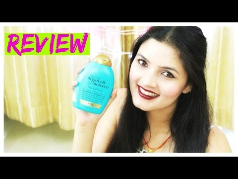 Review | Organix Moroccan Argan Oil Shampoo | Sulphate and Paraben free Shampoo | YouTube India