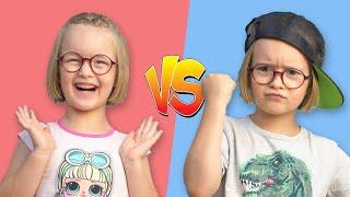 Богдана превратилась в мальчика! | Весёлые истории для детей