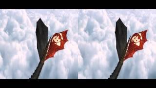 Как приручить дракона 2 - Дублированный тизер-трейлер в 3D (Full HD 1080p)