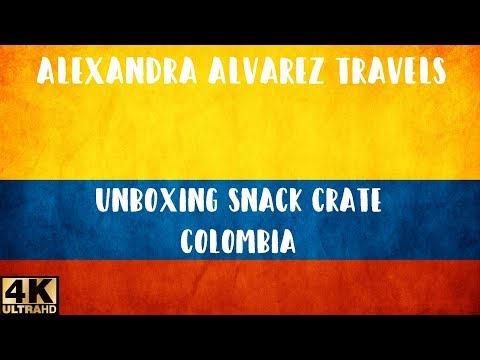 UNBOXING - Snack Crate: Colombia