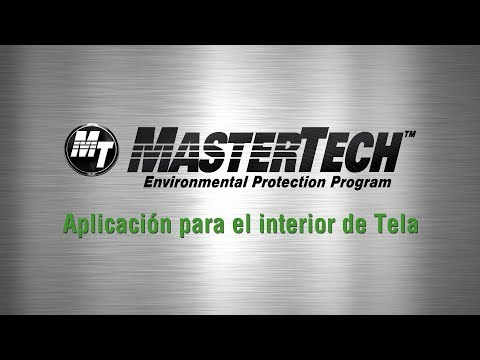 MasterTech™ Interior Fabric Bond Application - Spanish