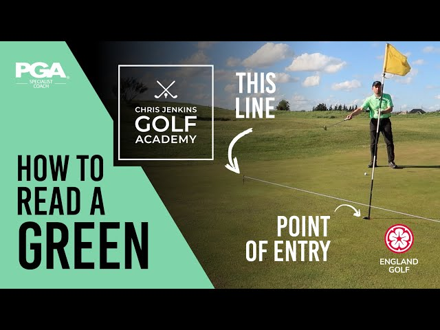 Reading a GOLF COURSE GREEN - Do this to improve your putting