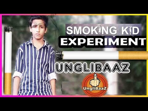 Kid Smoking | Social experiments in India 2015| #WorldNoTobaccoDay | UngliBaaz
