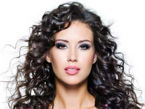 Long Curly Hairstyles For Square Faces