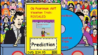 Oz Pearlman AGT Vacation Trick: Revealed