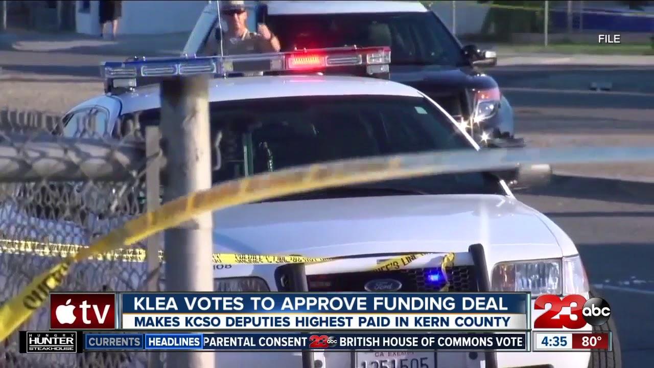 KLEA votes to pass multi-million dollar raise for Kern County Sheriff's  Office