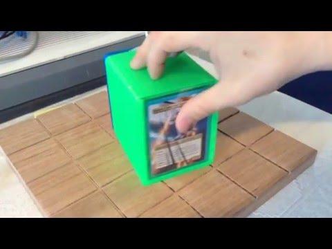 3D Printed EDH Deck box