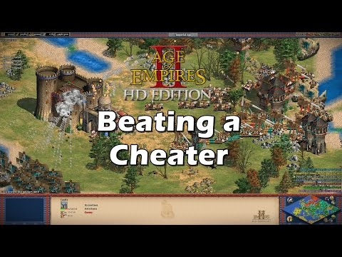 Cheater Host Defeated | AoE2 HD West Euro Diplomacy [Hacked