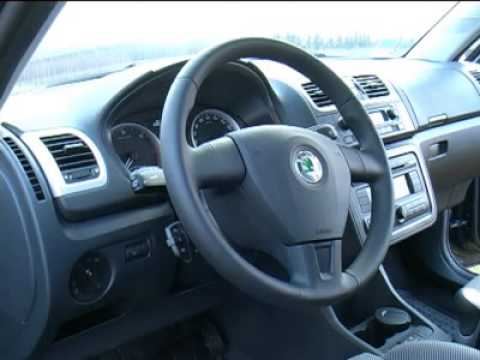 skoda fabia combi l 39 essai 2007 youtube. Black Bedroom Furniture Sets. Home Design Ideas