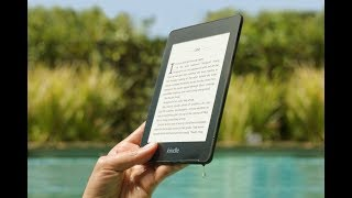 Amazon Kindle Paperwhite 4 Waterproof Test