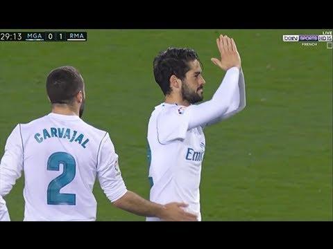 Isco Alarcon vs Malaga Away (15/04/2018) 1080i