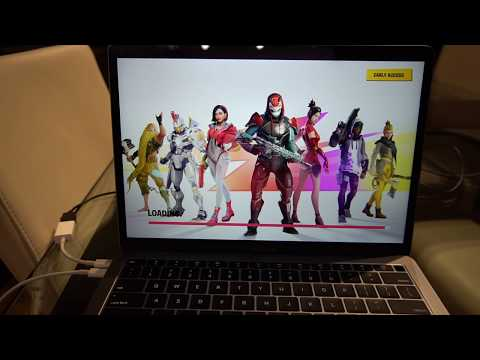 2019 Macbook Air I5, 16G - Fortnite Gaming Review