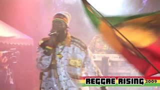 """CAPELTON  """"Mama"""" NEW SONG at Reggae Rising 2009"""