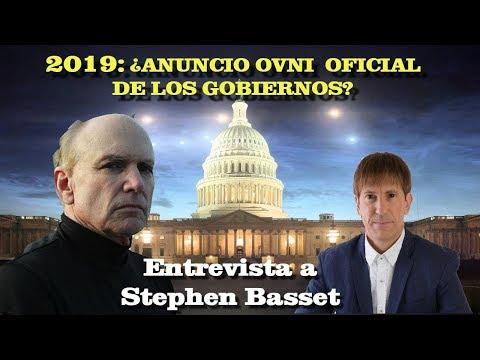 'EN 2019 LOS GOBIERNOS ANUNCIAN LA VERDAD ALIENíGENA GLOBAL' Entrevistamos a Stephen Basset