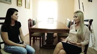 Интервью Даны Борисовой в Спасо-Преображенском центре