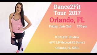 Orlando, FL & Oklahoma City, OK!!!! (Dance Fitness with Jessica)