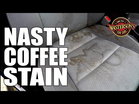 How To Remove Coffee Stains From Car Seats - Masterson's Car Care