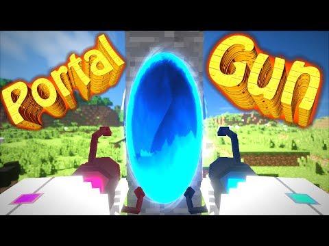 КАК ИЗМЕНЯЛСЯ ПОРТАЛЬНЫЙ МОД? Portal Gun Mod Story! - МАЙНКРАФТ
