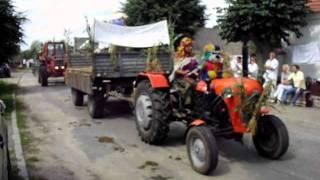 Dożynki Błotnicko-Przemęckie (Przejazd korowodu) 2011