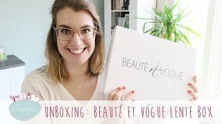 Unboxing: Beauté et Vogue Lente Box | byAranka.nl