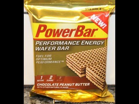 PowerBar: Chocolate Peanut Butter Wafer Bar Review