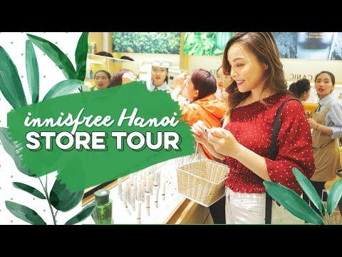 Lần Đầu Tiên Đến Innisfree Hà Nội ♡ Innisfree Store Tour ♡ TrinhPham
