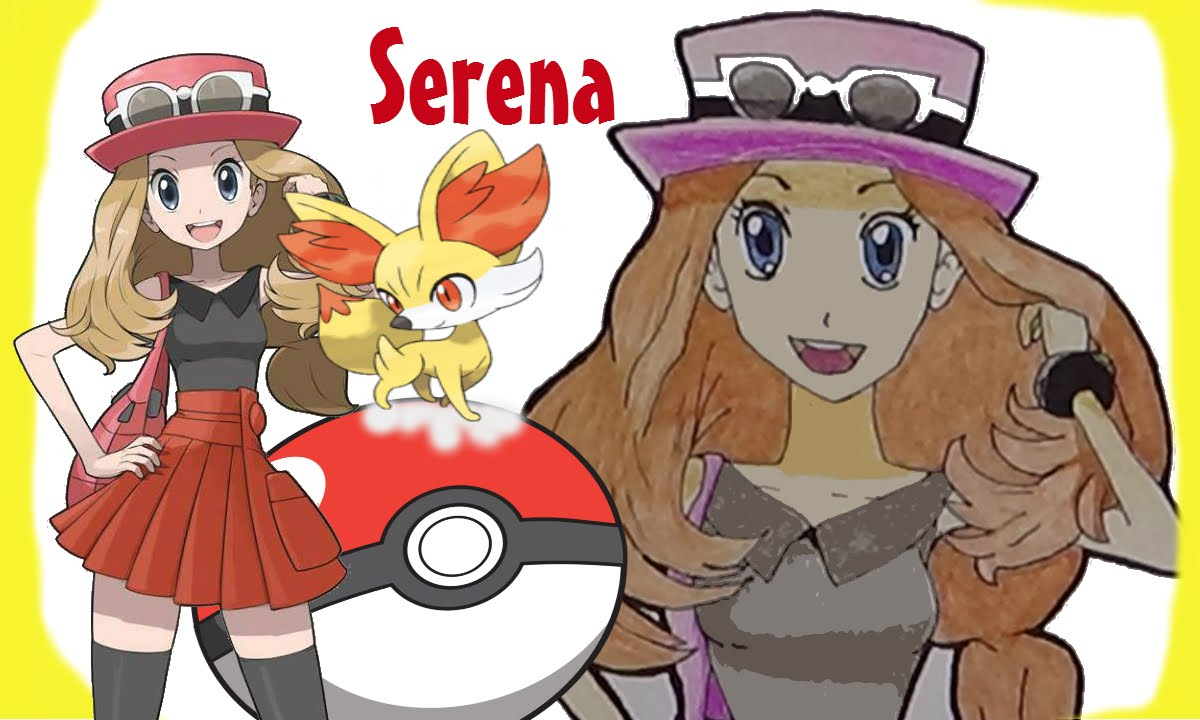 Another drawing of Serena from Pokemon XY by rikitempe on