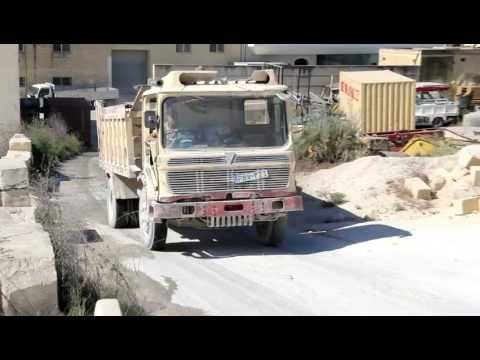 AEC Mandator site tipper hard at work in Malta