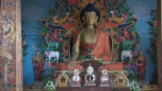 Der Mongar Dzong in Mongar Bhutan