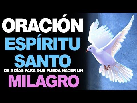 🙏 Oración MILAGROSA AL ESPÍRITU SANTO de tres días iGlorificados! 🙇