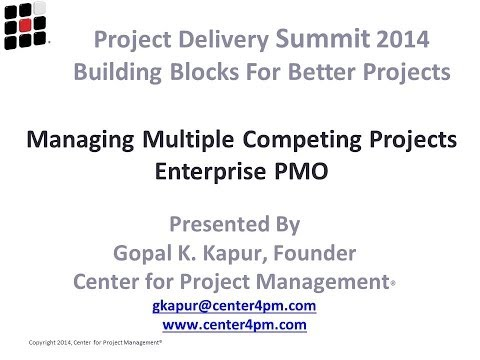 2014 Project Delivery Session 08 Project Management Part 1 - A PSP Forum