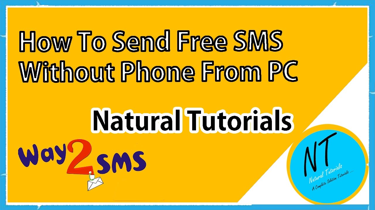 How To Send Free SMS Messages By Using Way2sms Telugu Tutorial