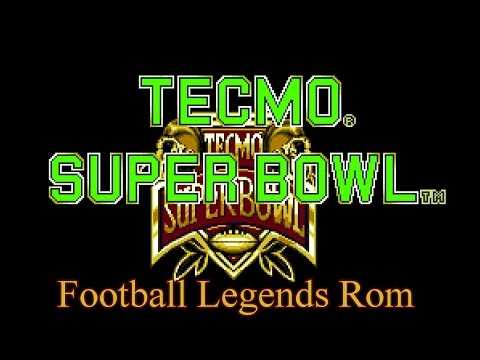 Download the Tecmo Super Bowl (SNES) Football Legends Rom Today!