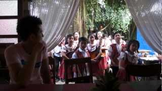 Bag of Beans Tagaytay Singing Kids
