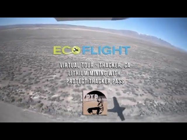 Thacker Pass, NV - Proposed Lithium Mine - Virtual Tour