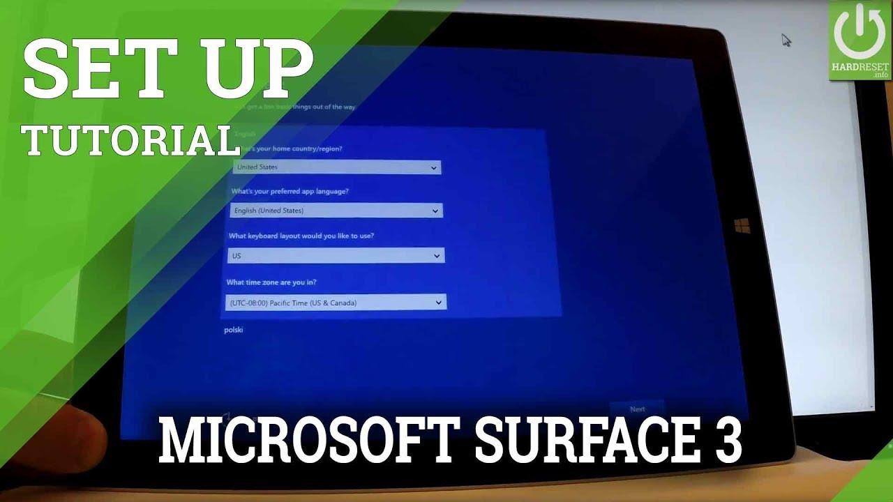 hard reset microsoft surface 3
