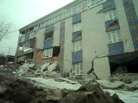 Van Depremi 2. Deprem Ile Yıkılan Bina..  Mirbey