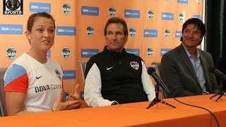 Brittany Bock: From Pink Panther to the Houston Dash