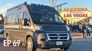 Going to SHOT Show in Las Vegas Nevada | Camper Van Life S1:E67