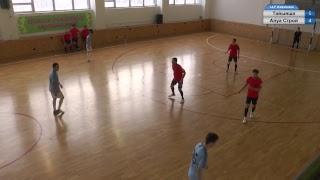 Тайынша- Алуа Строй, Лига В, 7 тур Чемпионата ЛЛФ Кокшетау по футзалу 2018-2019 гг.