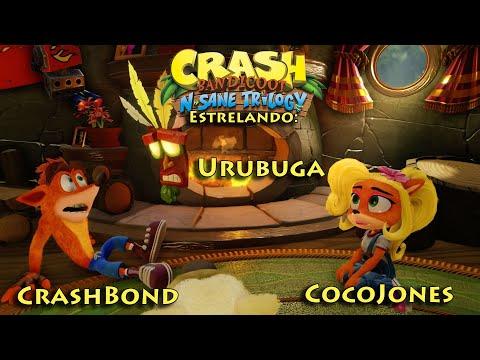 Crash Bandicoot N. Sane Trilogy no PS4 - Dia #5 CrashBond e CocoJones