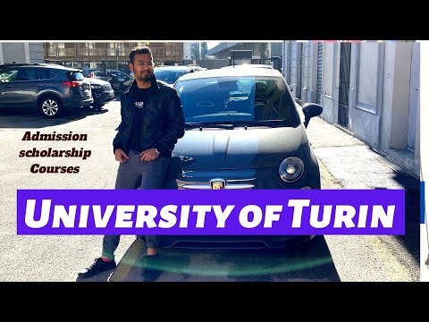 University of Turin |Admission| Scholarships| Courses | 2020 Intake