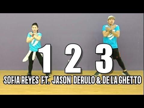 1 2 3  Sofia Reyes Ft Jason Derulo & De La Ghetto  Jingky Moves  Zumba  Dance Fitness