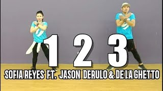 1 2 3 | Sofia Reyes Ft. Jason Derulo & De La Ghetto | Pop | Zumba | JM