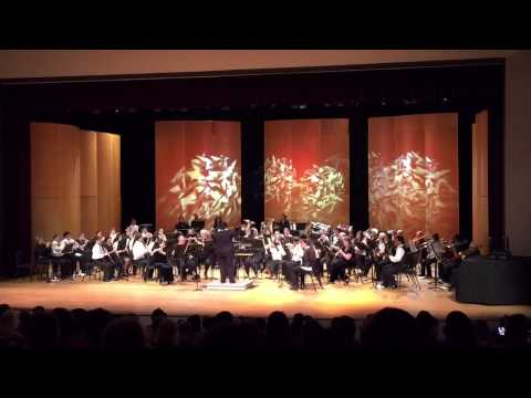 "Kauai Community College Wind Symphony ~Theme from ""The Simpsons"" & Rolling Thunder March"