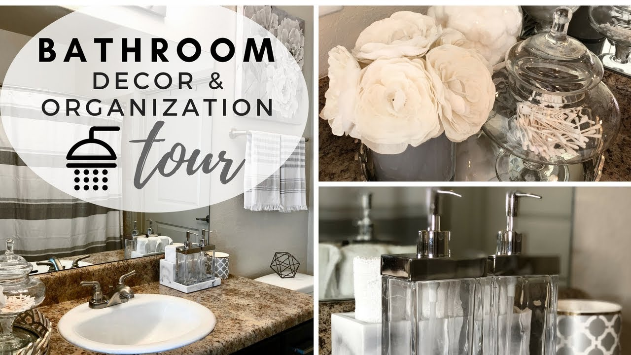 Bathroom Decorating Ideas Tour 2018 Youtube