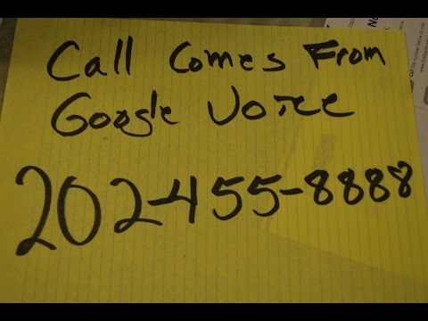 Fix for Craigslist Google Voice Scam, How to reclaim ur number, 202-455-8888