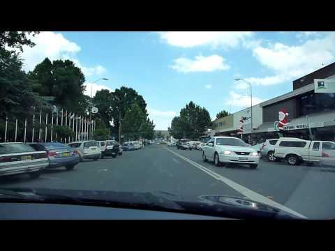 Cooma  Main Street - NSW Australia